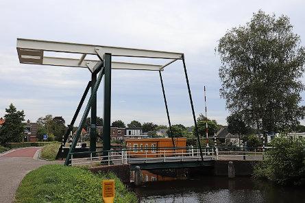 Foto Klein Groningen, brug