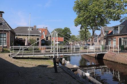 Foto Fietsbrug in Lytse Stege