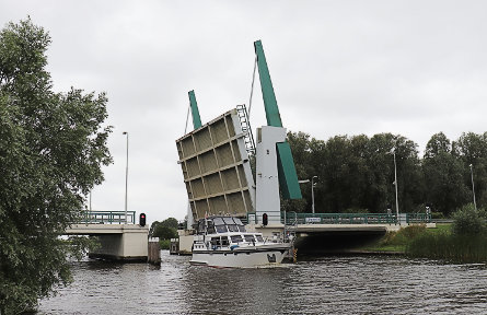 Foto Kollumer Nieuwe Zijl / Kollumer Nieuwe Zijl, Zijlsterrijd