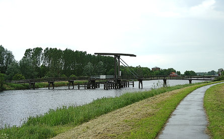 Foto Nieuweschans, fietsbrug