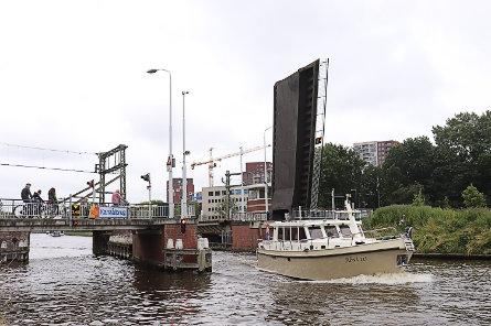 Foto Kanaalbrug, Leiden