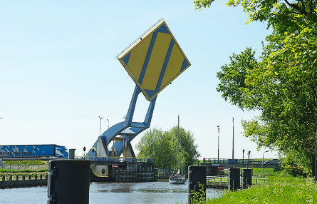 Foto Slauerhoffbrug, Leeuwarden