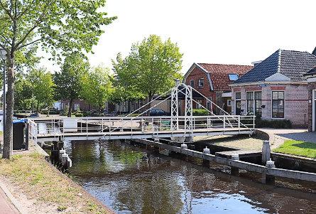Foto Fietsbrug in Spinhuisstege