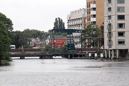 Foto spoorbrug Galgewater