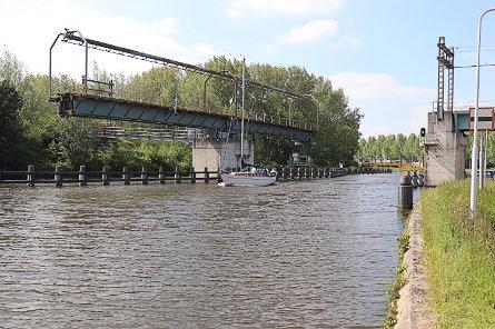 Foto Spoorbrug Gouda (enkelspoor)