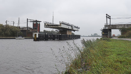 Foto Spoorbrug Grou / Spoorbrug Grou, Prinses Margrietkanaal