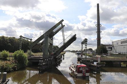 Foto spoorbrug Krommenie
