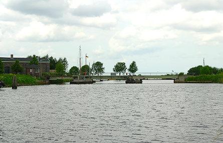 Foto spoorbrug Nieuweschans