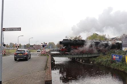 Foto spoorbrug Veendam