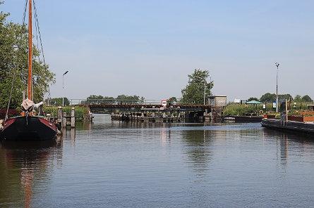 Foto spoorbrug Nijezijl