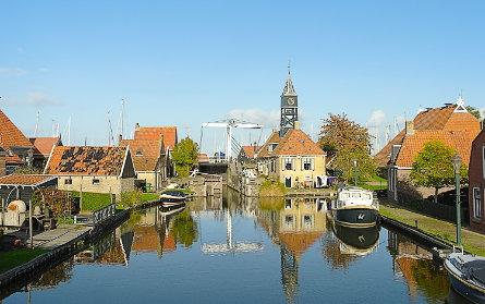 Foto Sluis Hindeloopen / Zeesluis, Hindeloopen